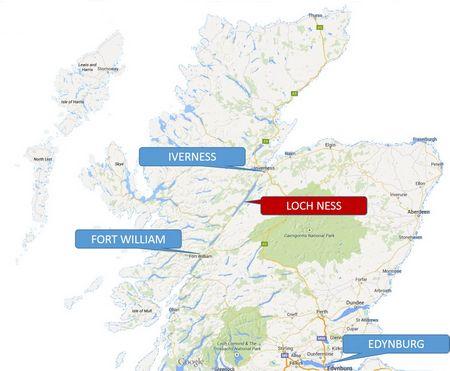 Fakty o potworze z jeziora Loch Ness w Szkocji