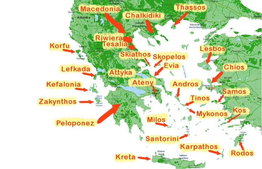 Greckie Wakacje Na Wyspie Czy Na Stalym Ladzie