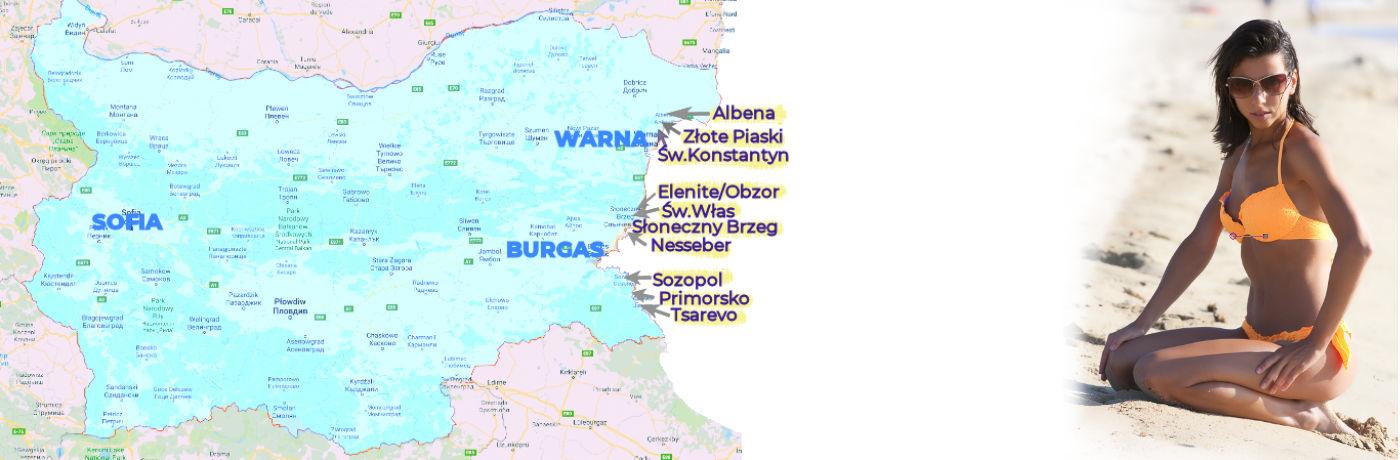 Karta Na Bulgaria.Czy Warto Poleciec Do Bulgarii