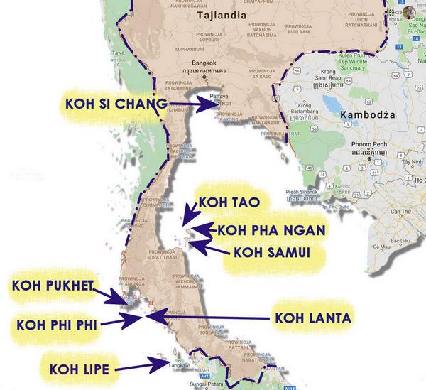 Wyspy Tajlandii